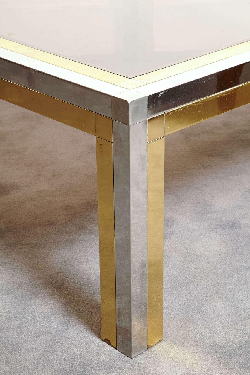 Late 20th Century Square Coffee Table, France, 1970s For Sale