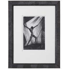 Boris Lovet-Lorski 'Untitled #4' from Volume I Lithograph