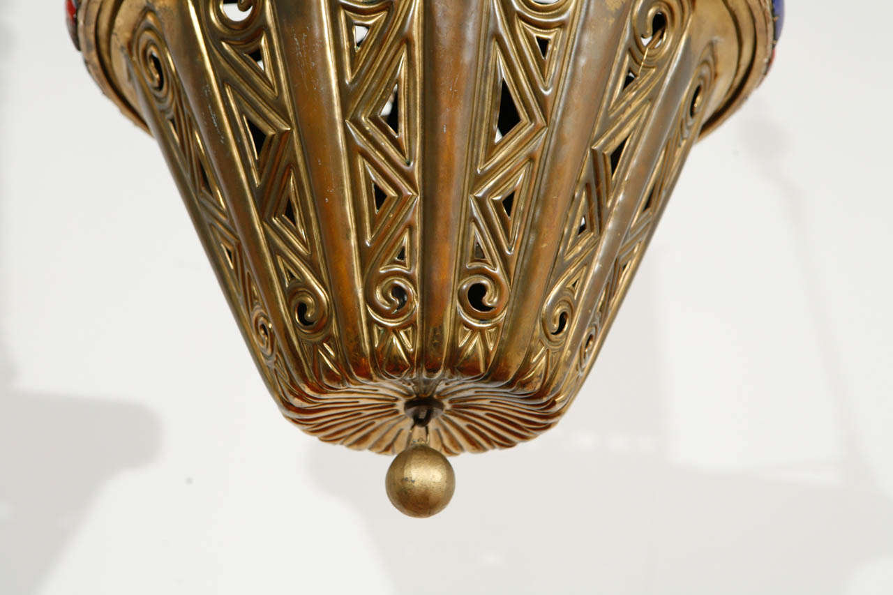 Brass Pendant For Sale 1
