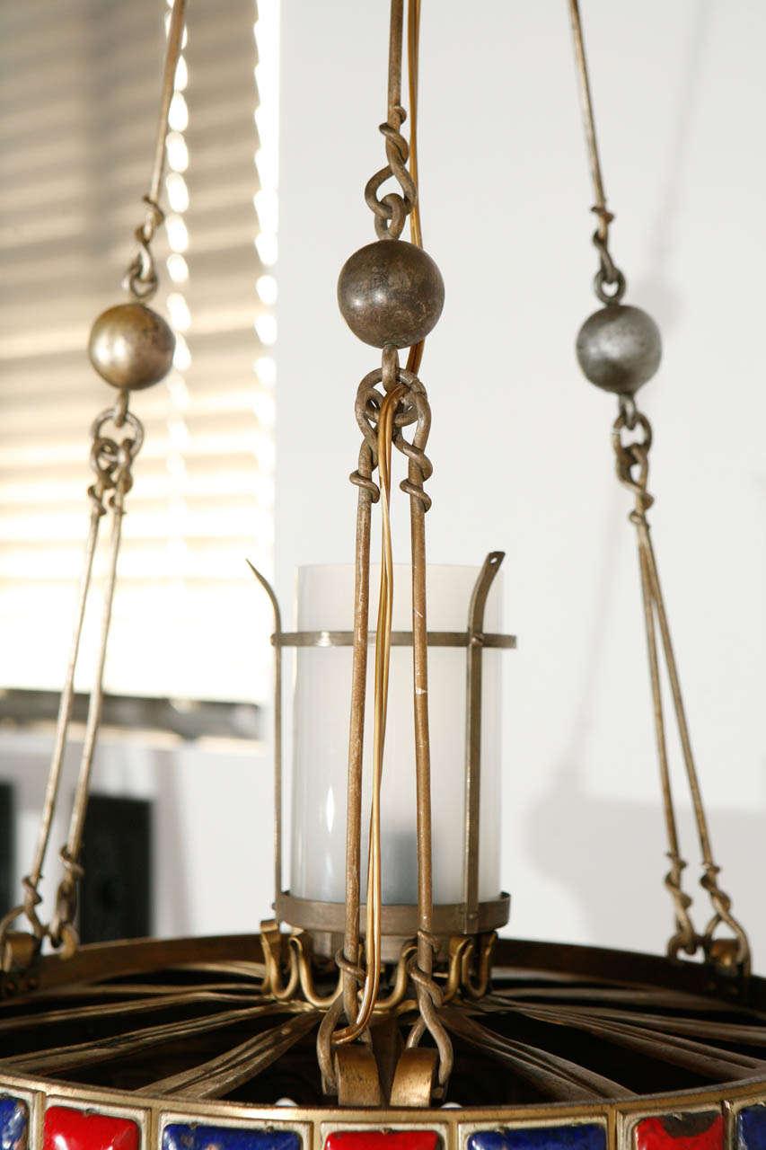 Brass Pendant For Sale 2