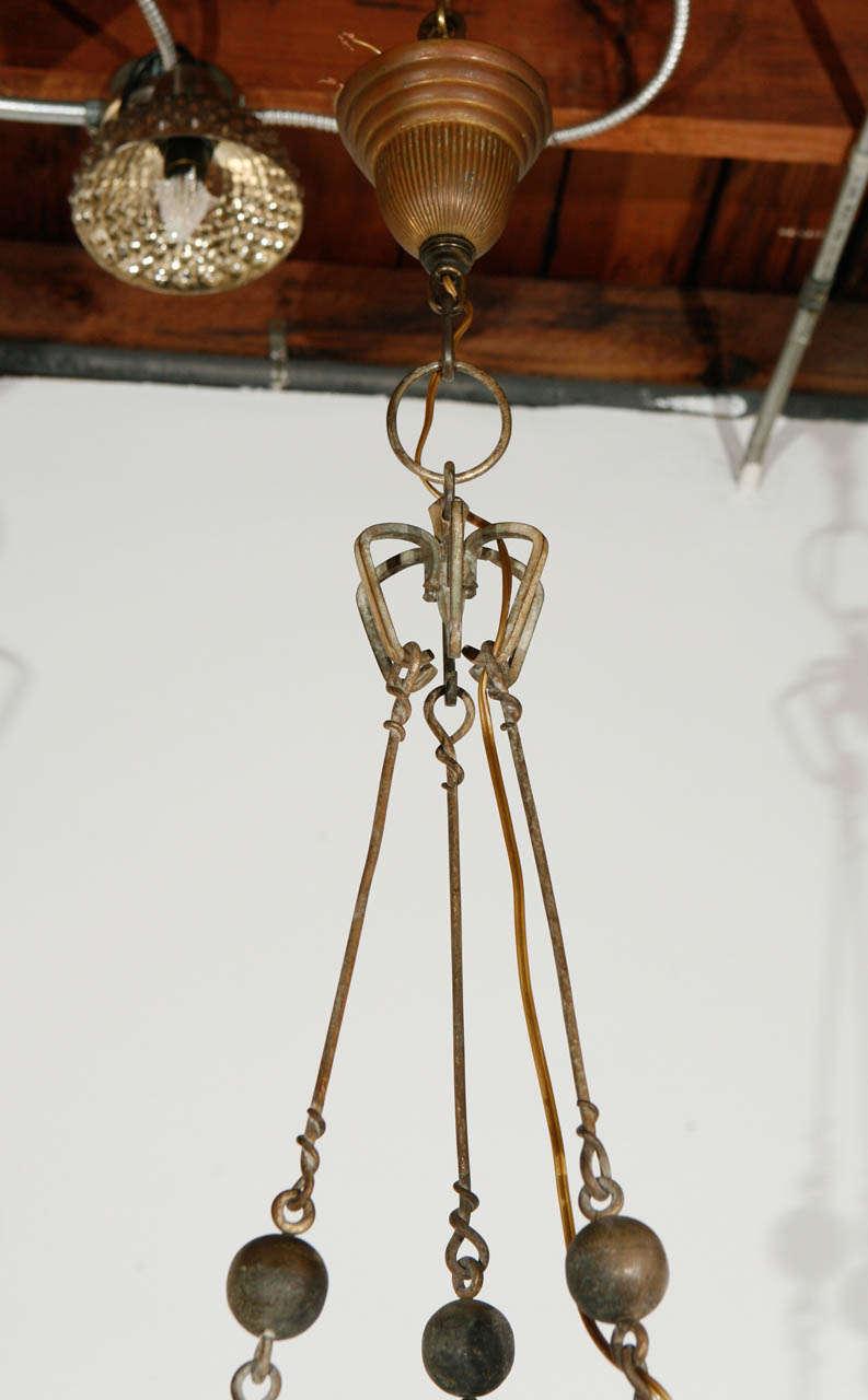 Brass Pendant For Sale 3