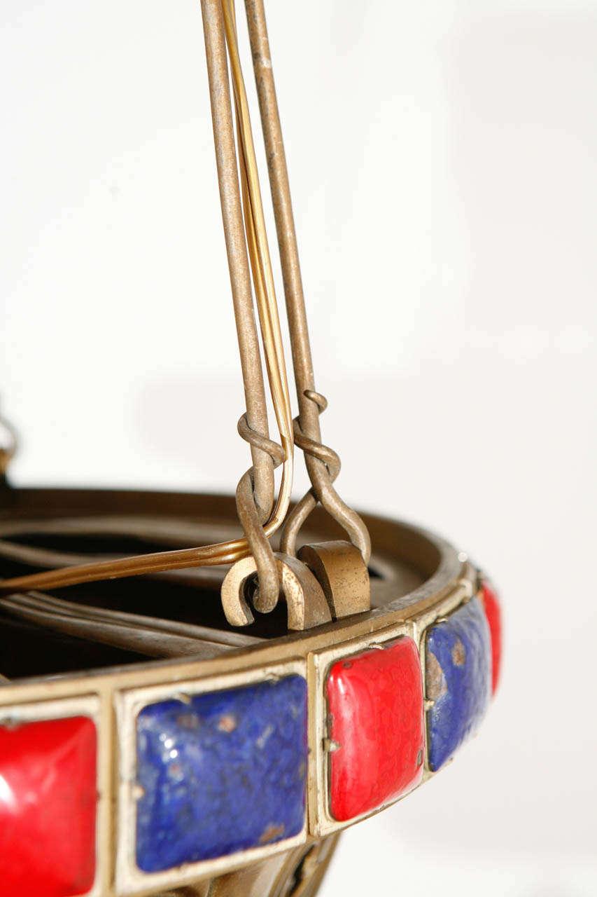 Brass Pendant For Sale 5