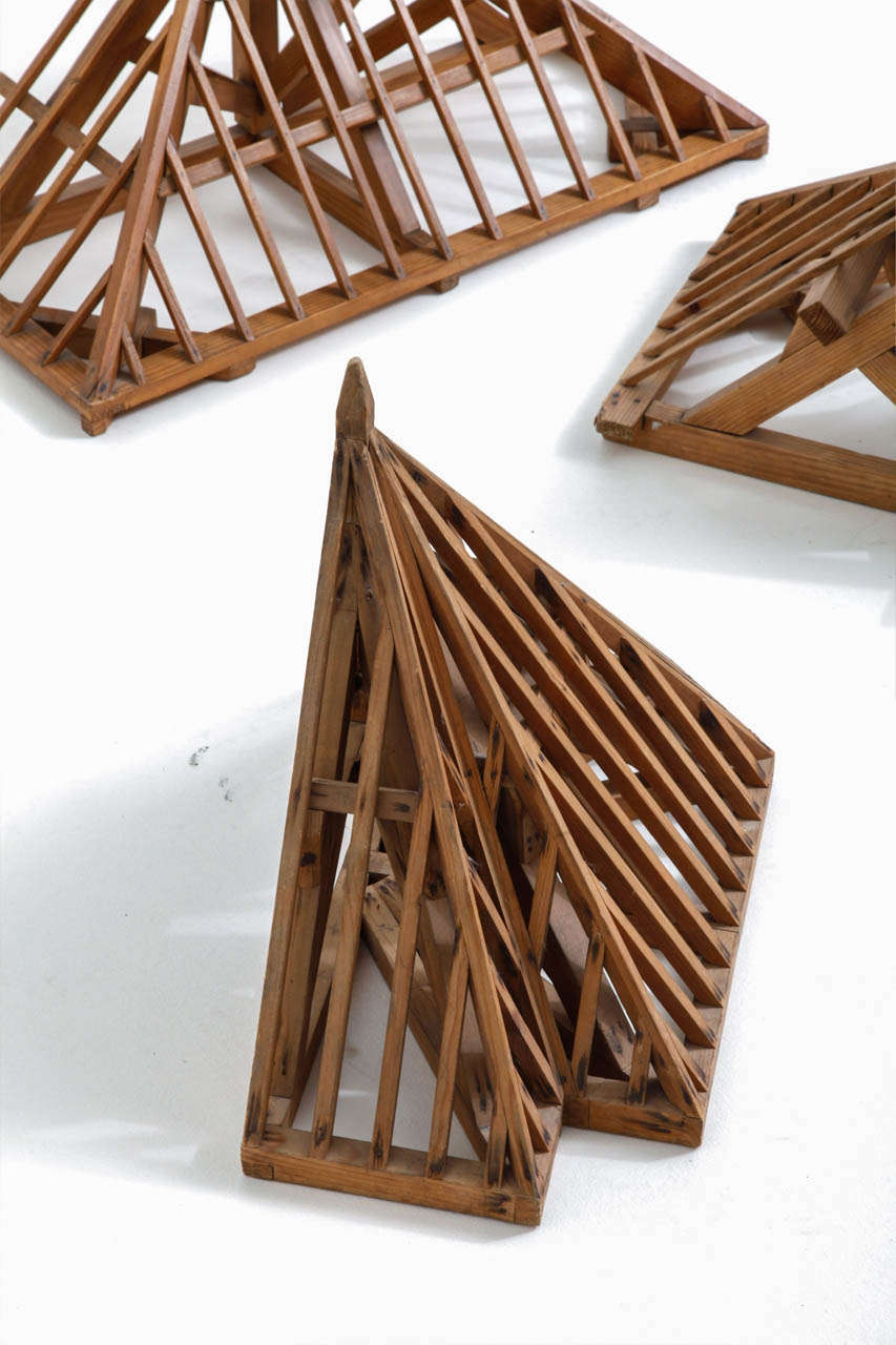 Architectural models of a roof construction charpente for Architecture models for sale