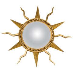 Gilbert Poillerat Starburst Mirror
