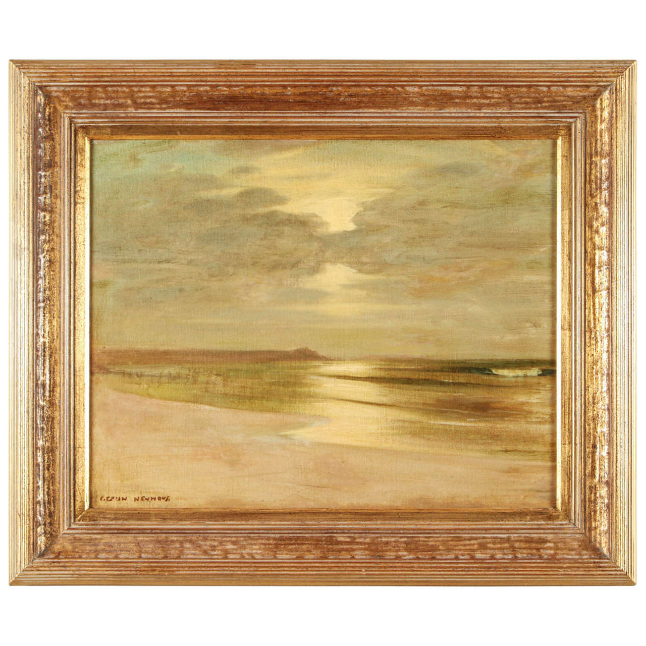 Early California Impressionist Oil Painting by Karl Eugen Neuhaus For Sale