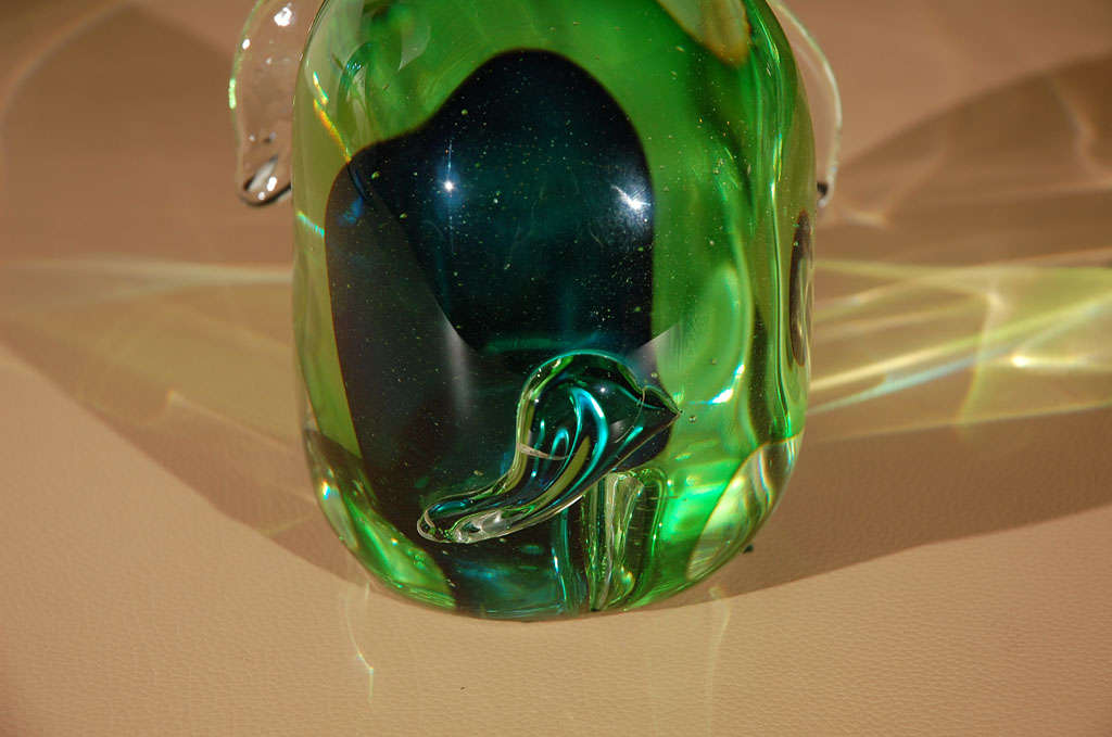 Murano Glass Elephant Sculpture For Sale At 1stdibs