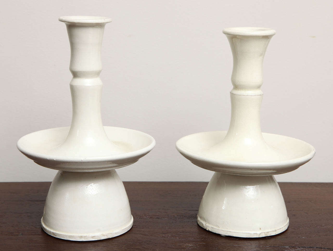 Contemporary Pair of Belgian Candlesticks For Sale