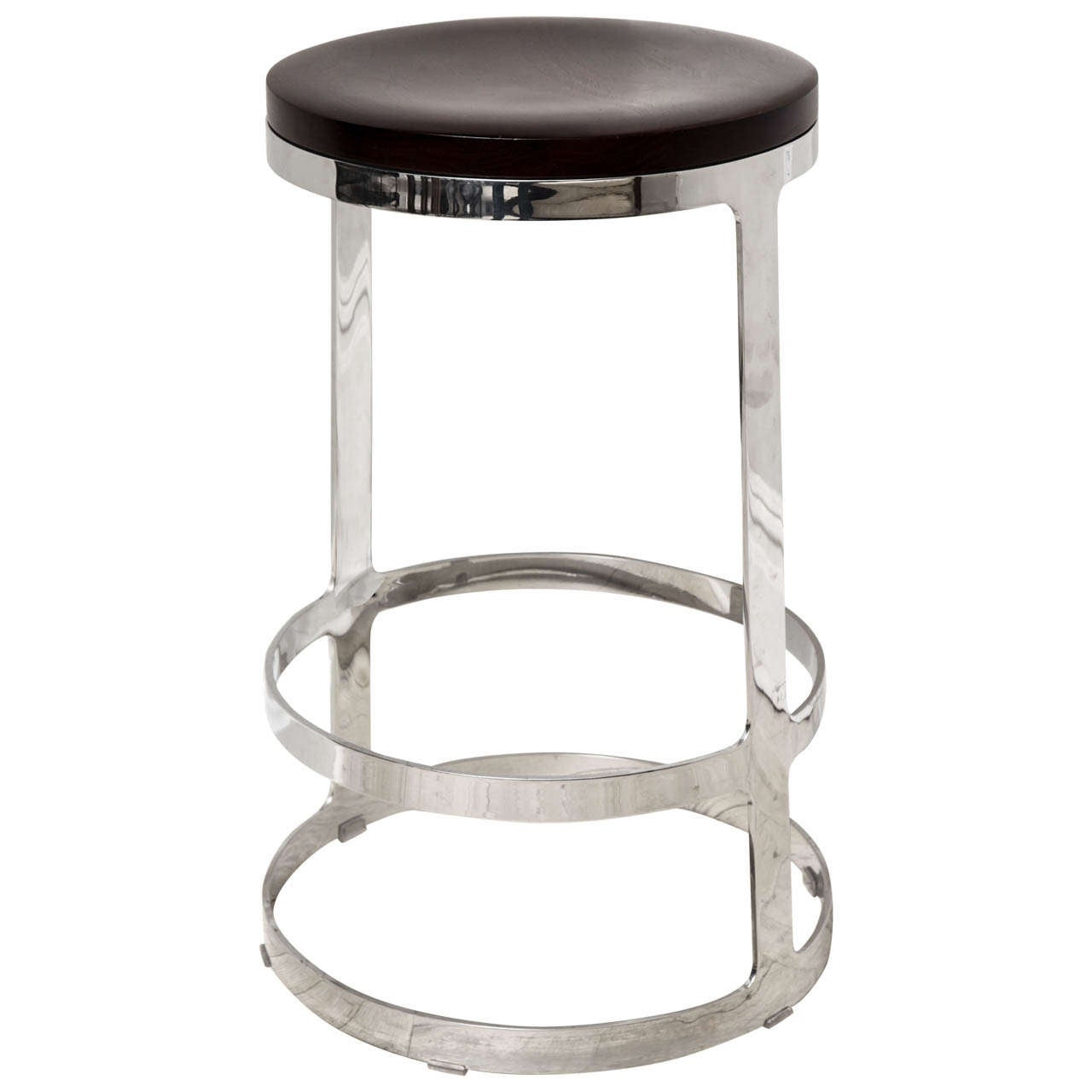 Original Swing Out Seat Made In Usa Bar Or Arm Stool At