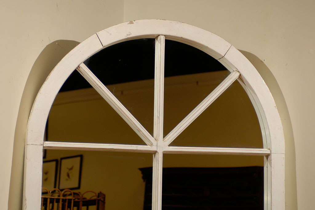 Large english window frame mirror c 1880s for sale at 1stdibs for Full length window mirror