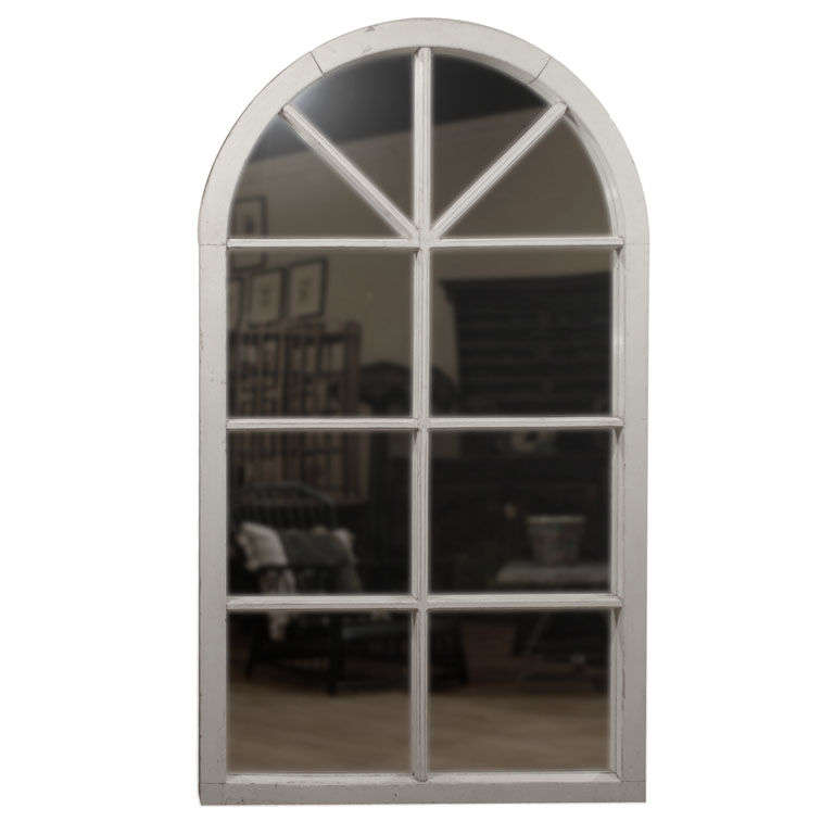 large english window frame mirror c 1880s 1 - Window Frame Mirror
