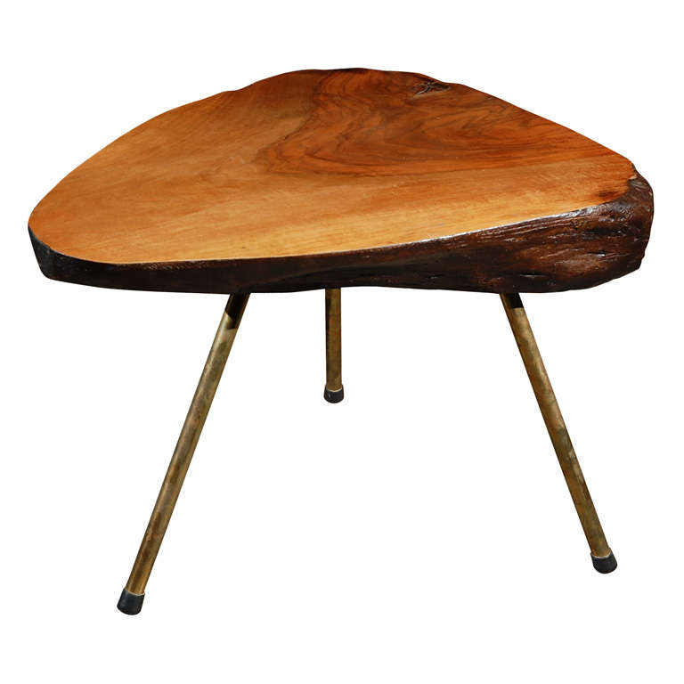 Carl aubock tree trunk coffee table at 1stdibs Trunks coffee tables