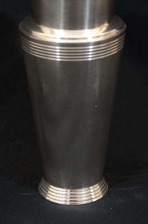 Keith Murray for Mappin & Webb Cocktail Shaker For Sale 2