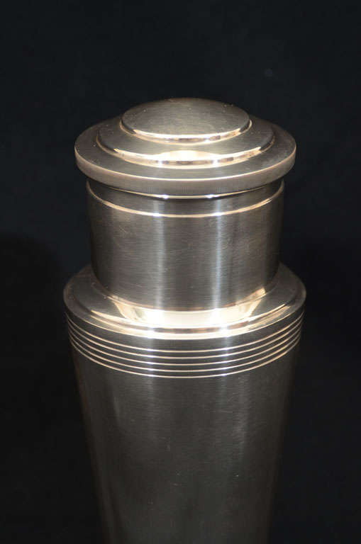 English Keith Murray for Mappin & Webb Cocktail Shaker For Sale