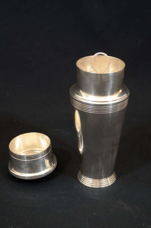 Mid-20th Century Keith Murray for Mappin & Webb Cocktail Shaker For Sale
