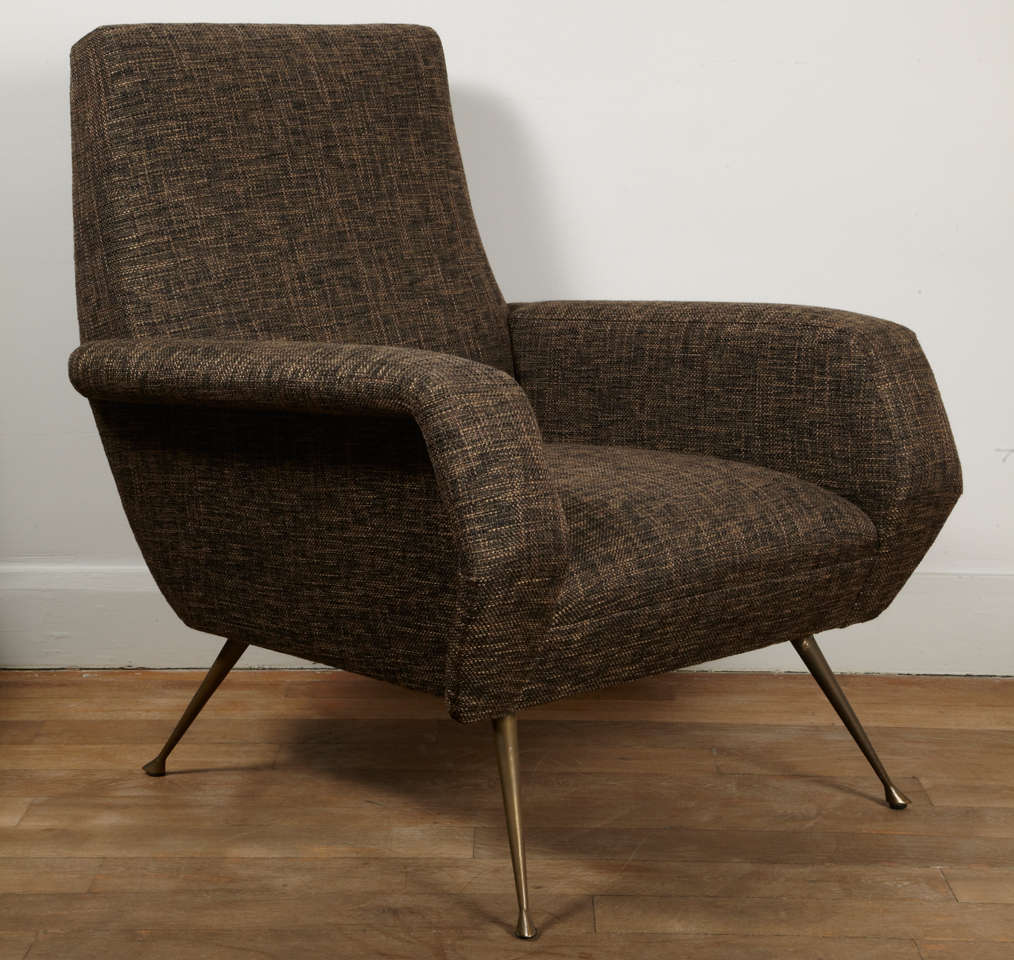 A pair of stylish armchairs italy circa 1960 at 1stdibs for Children s armchairs 10 of the best