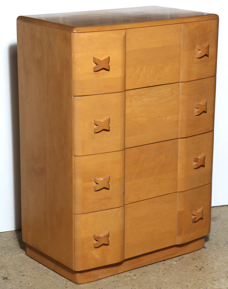 "Heywood Wakefield ""Rio"" Maple Dresser 3"