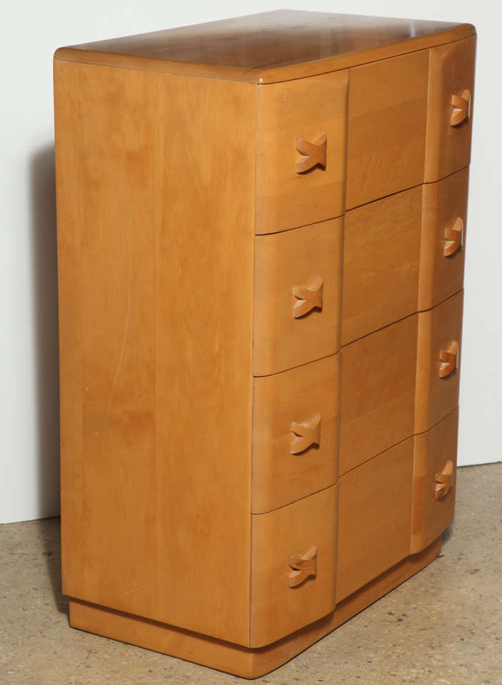 "Heywood Wakefield ""Rio"" Maple Dresser 8"