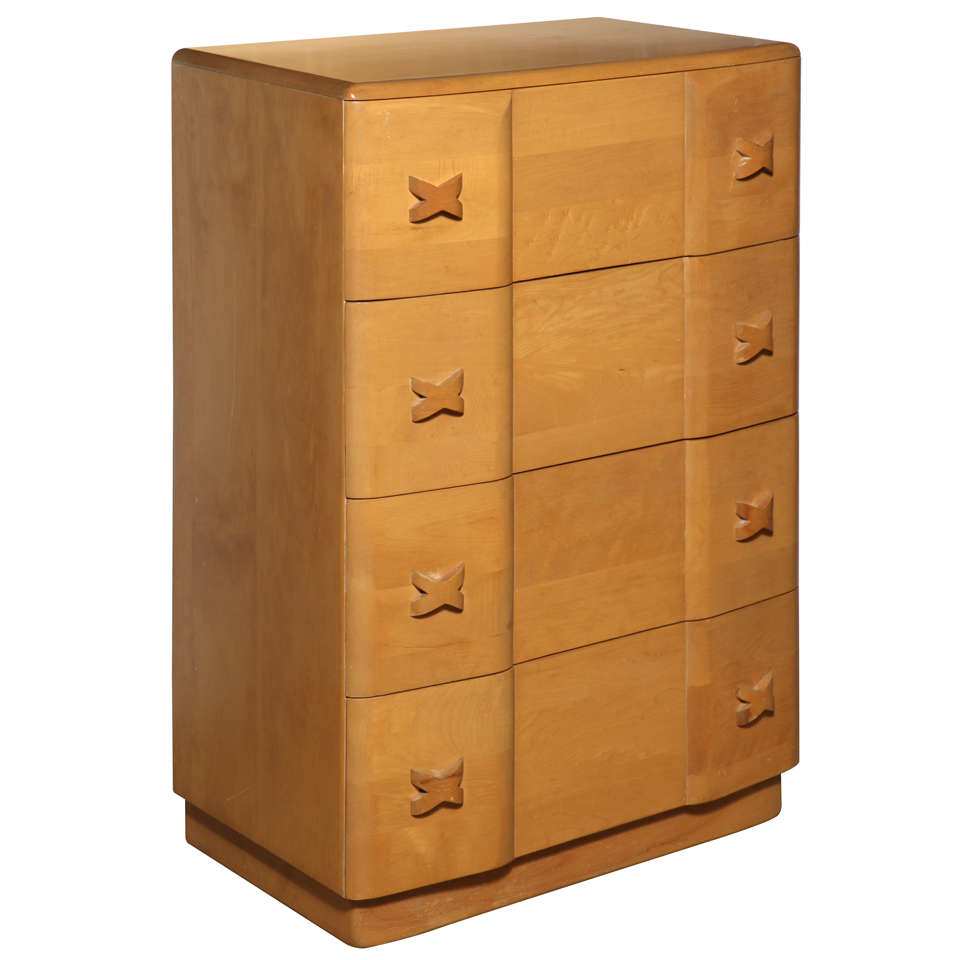 "Heywood Wakefield ""Rio"" Maple Dresser"