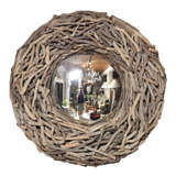 Convex Mirror in Frame of Driftwood