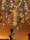 Italian Giltwood Carved Chandlier image 9