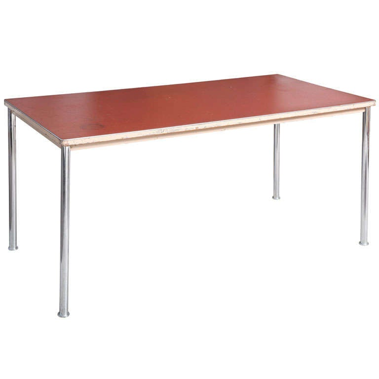 Rare and Early Table/Desk by Le Corbusier at 1stdibs