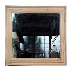 Belgian pine mirror frame