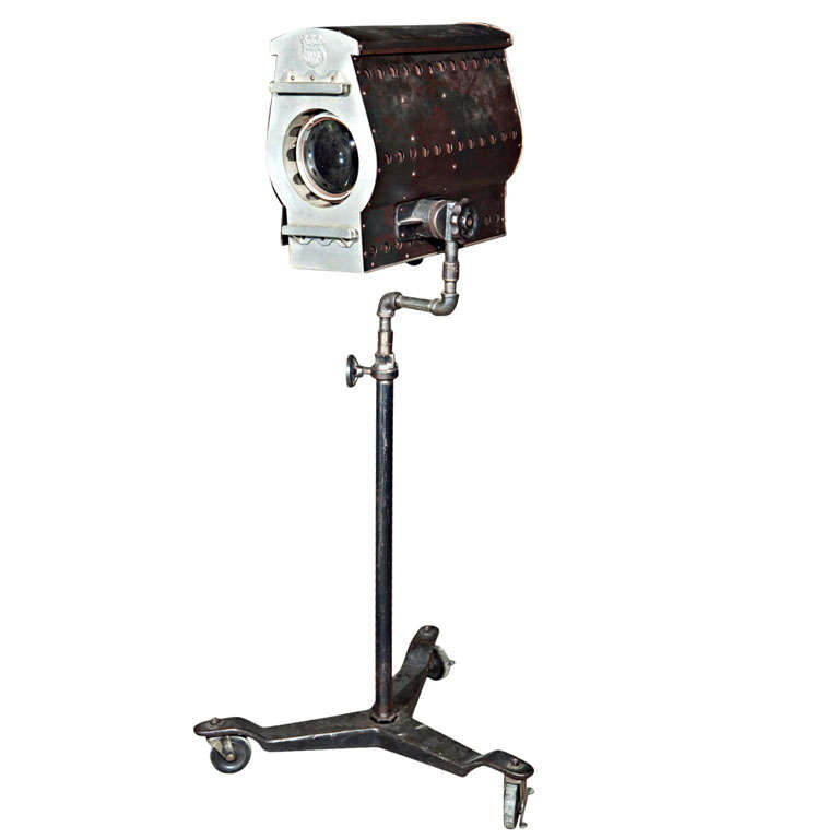 Vintage Movie Studio Standing Light