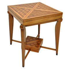 French Envelope Game Table