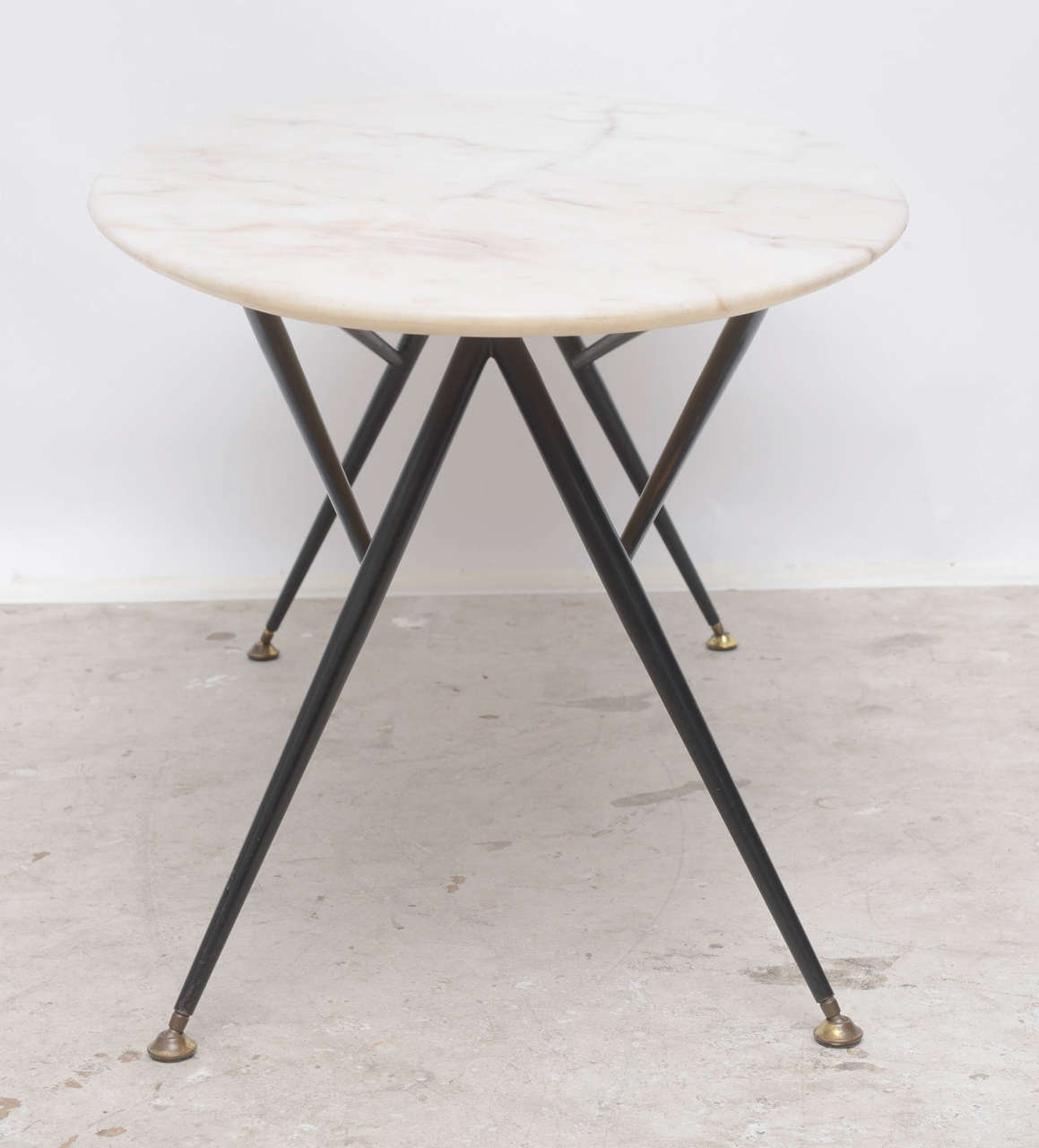 Midcentury Italian Marble Coffee Table At 1stdibs