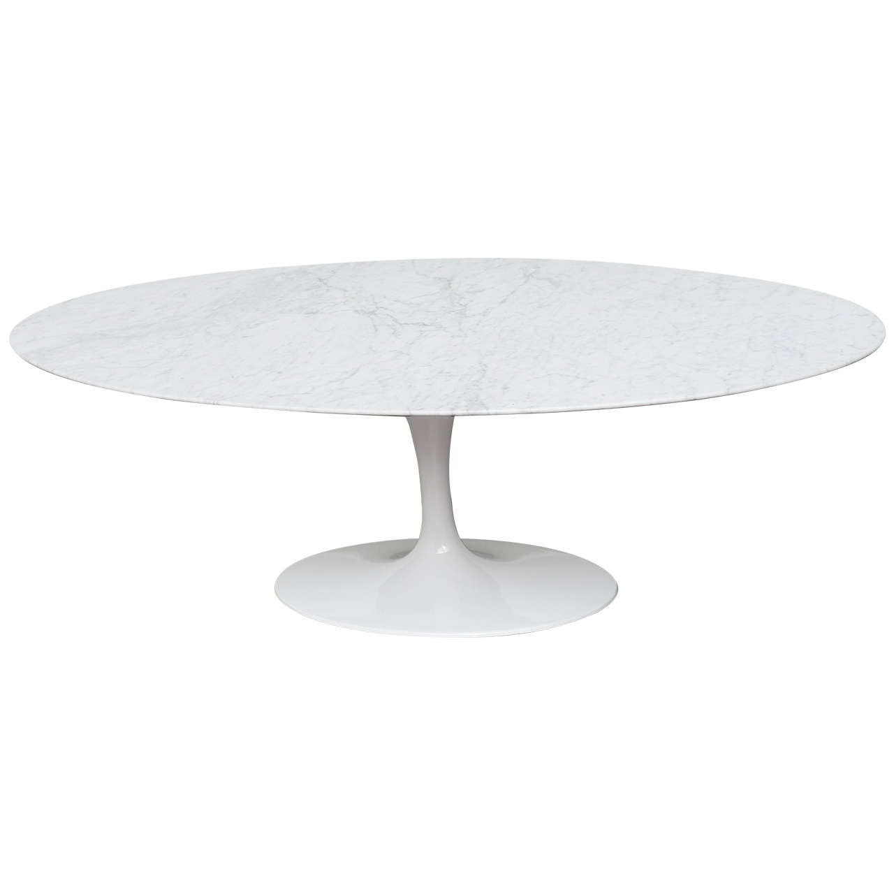 Sarrinen Tulip Coffee Table On Pedestal Base