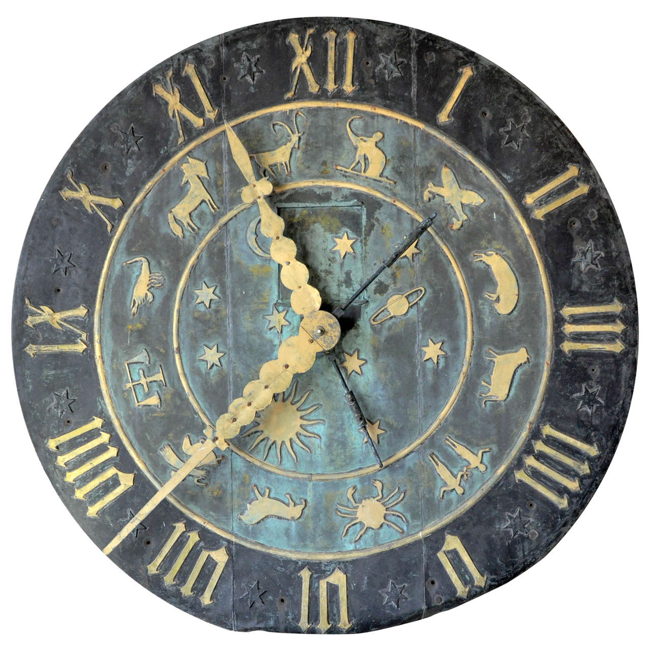 Zodiac Clock Face From The Schlitz Brewery For Sale At 1stdibs