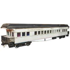 Narragansett Pier Railroad Scale Train Model