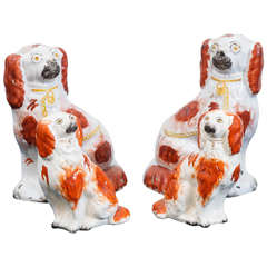 Staffordshire Dogs in Pairs
