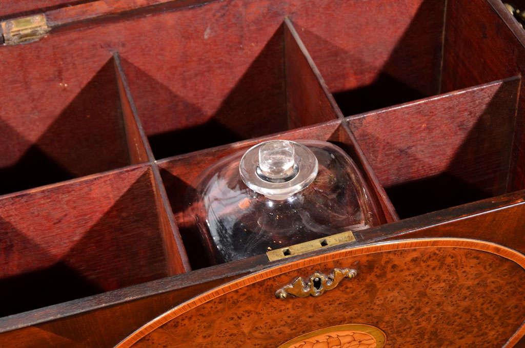 19th Century Mahogany Liquor Cabinet image 5