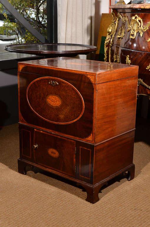 19th Century Mahogany Liquor Cabinet image 2