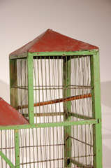 French Bird Cage Painted Antique At 1stdibs