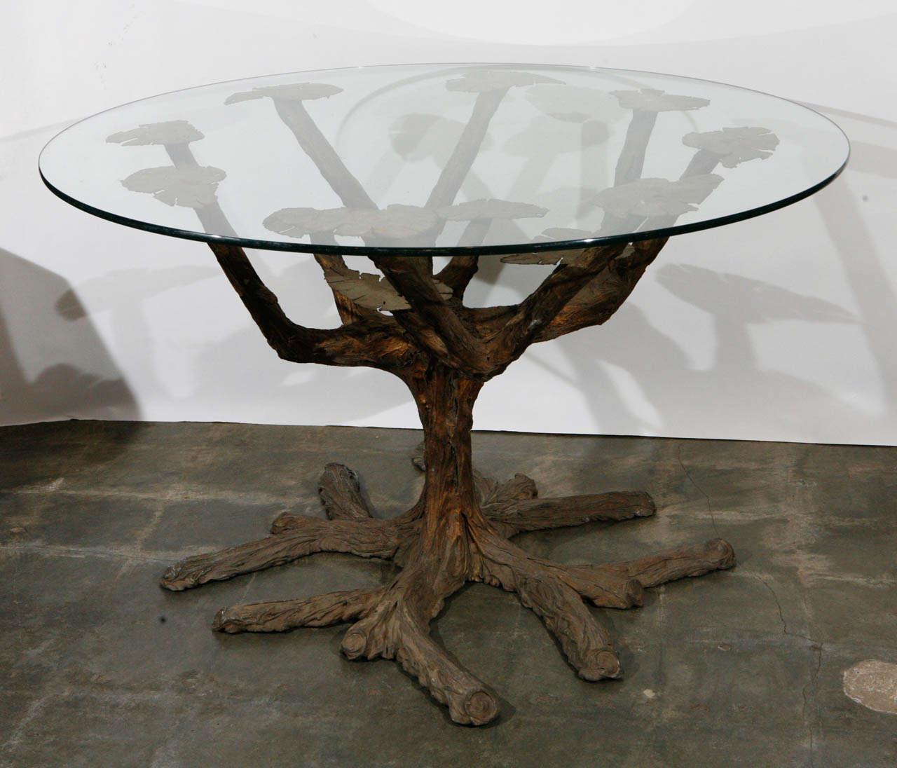 Tree Dining Table Clark Functional Claro Walnut Quarter  : B from honansantiques.com size 1280 x 1096 jpeg 114kB