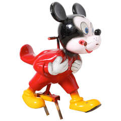 Exceptional Mickey Mouse Carousel Figure