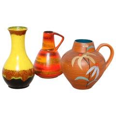 Set of 1950s West Germany Vases