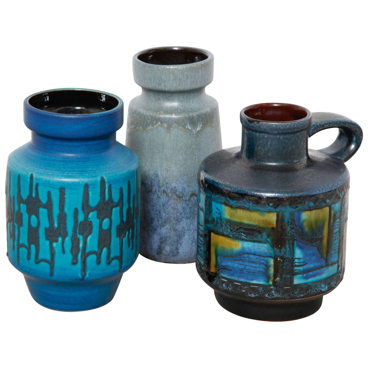 Group of Iconic Ceramic West-Germany Vases