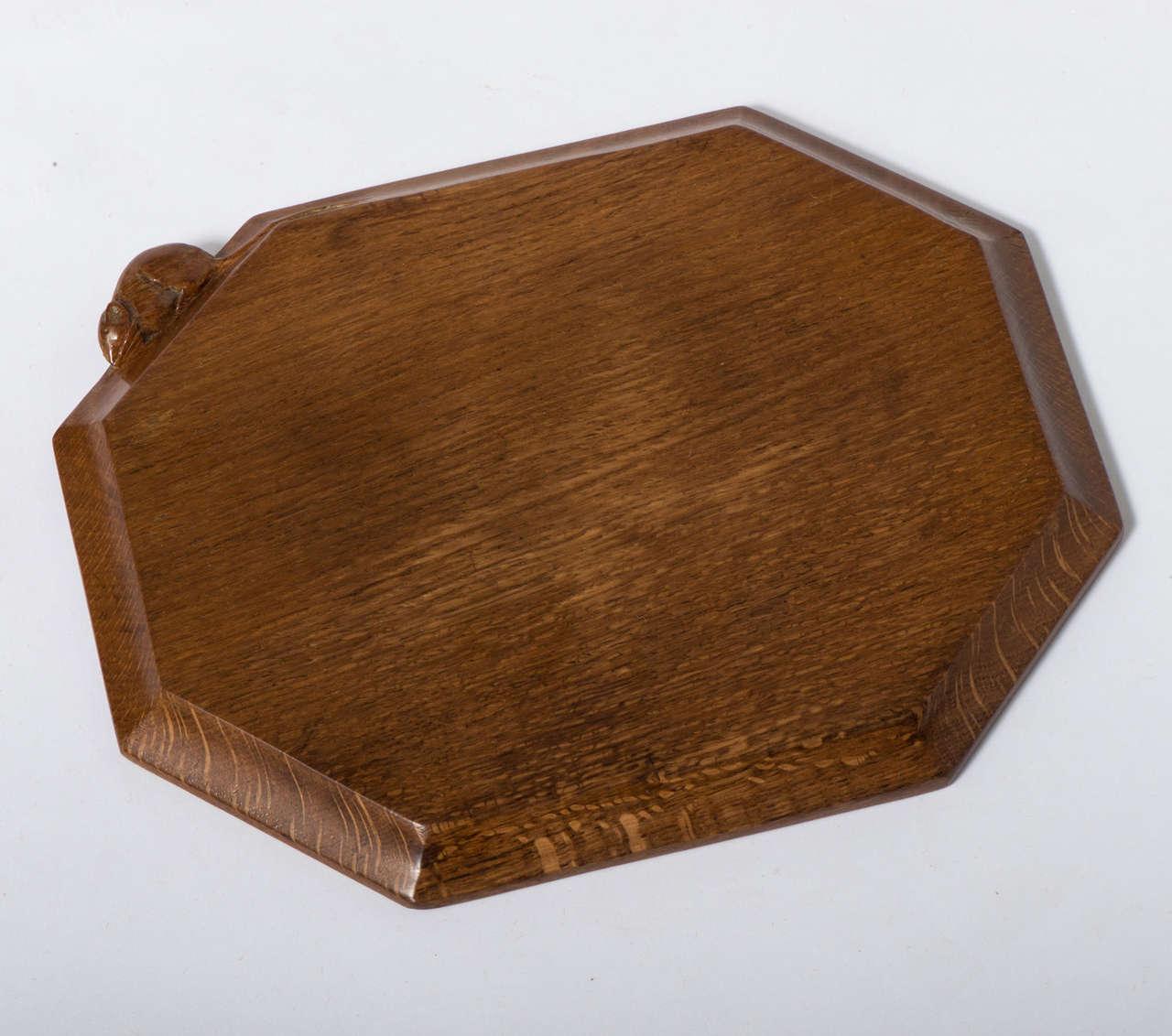 Robert Mouseman Thompson Oak Chopping Board For Sale at