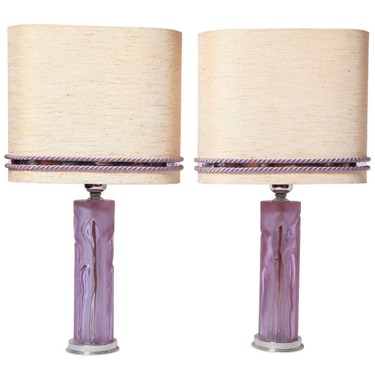 A Pair Of Table Lamps 1