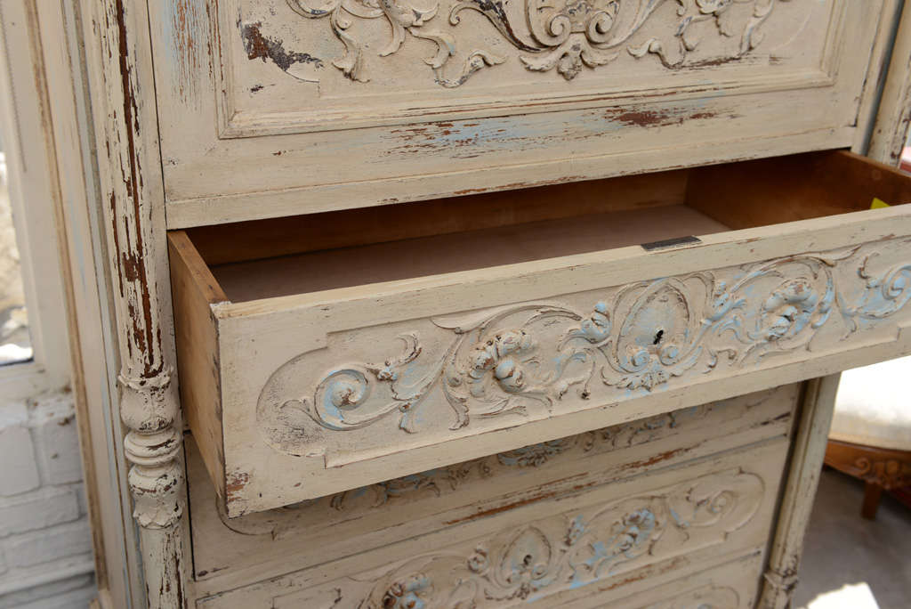 19th Century French Chest of Drawers with Writing Desk image 7