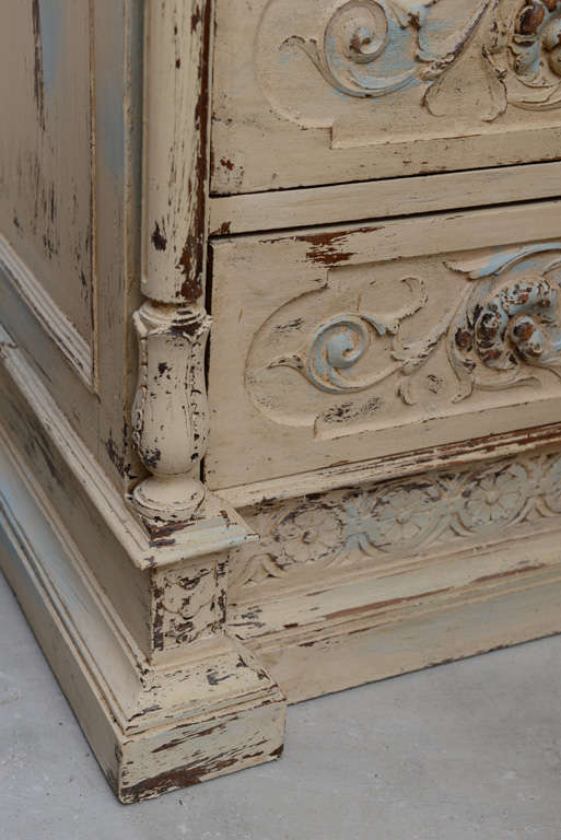 19th Century French Chest of Drawers with Writing Desk image 8