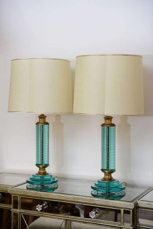 Pair of Art Deco Lamps 2
