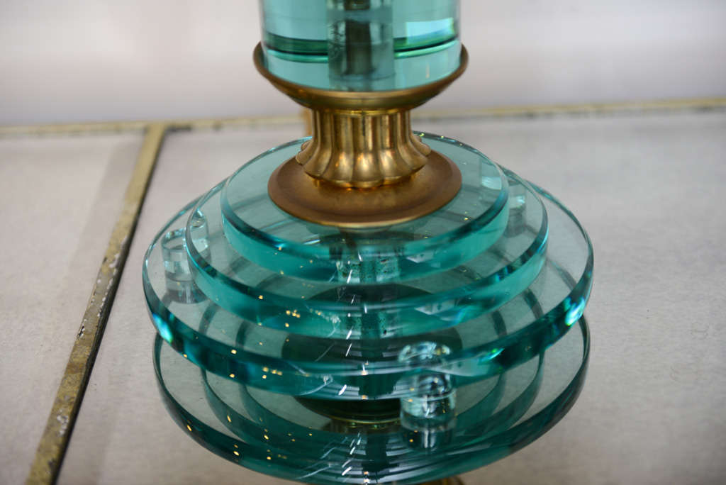 Mid-20th Century Pair of Art Deco Lamps For Sale