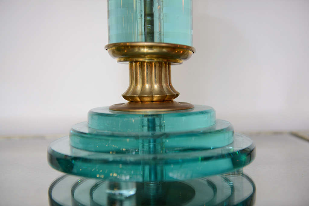 Pair of Art Deco Lamps For Sale 1