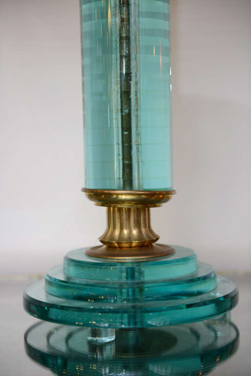 Pair of Art Deco Lamps For Sale 2