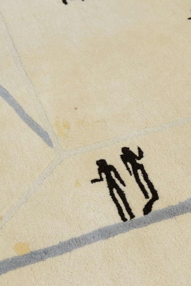 Modern Diego Giacometti Rug For Sale