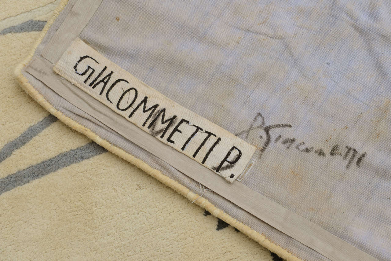 Diego Giacometti Rug For Sale 2